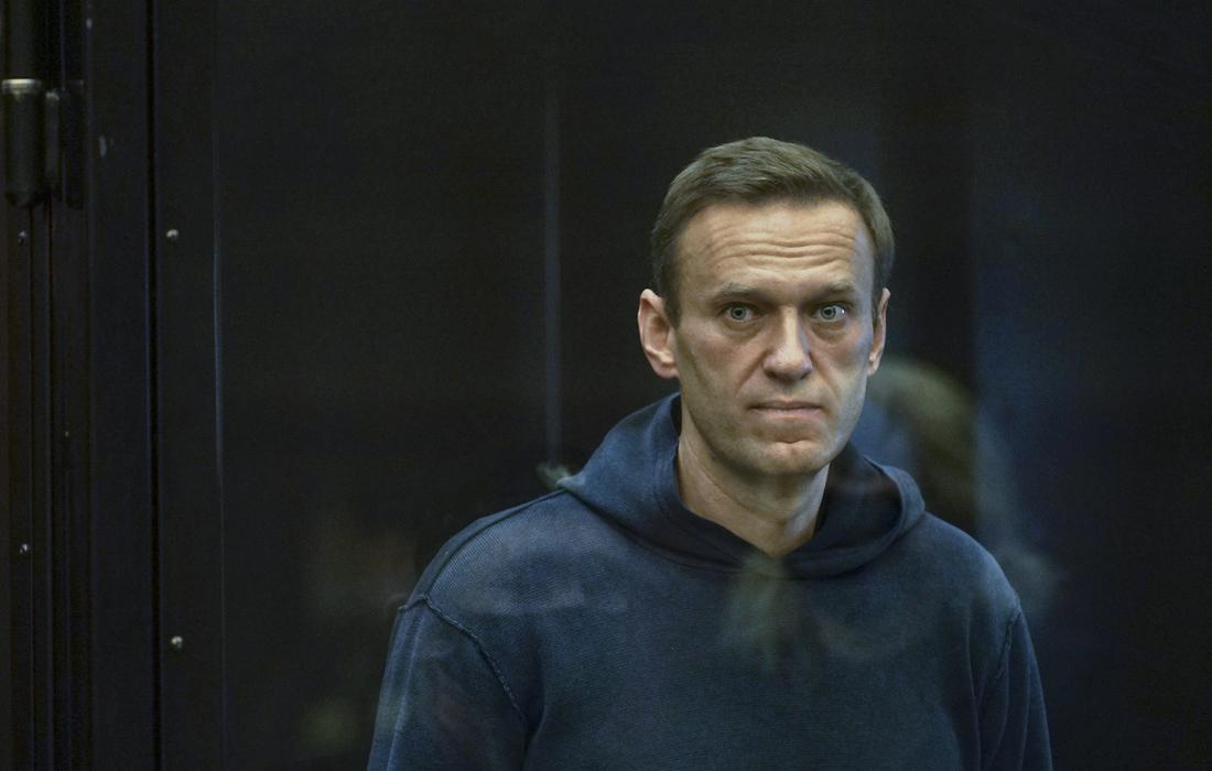 Фото Навального в суде