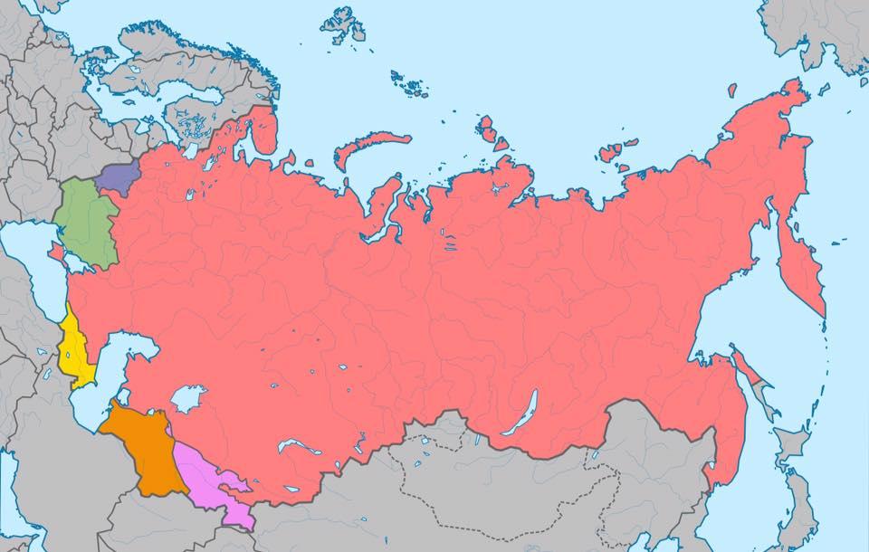 Национальные автономии и республики в СССР