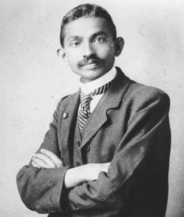 Юный Махатма Ганди