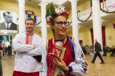 Ксюша Собчак хочет вернуть Украине Крым