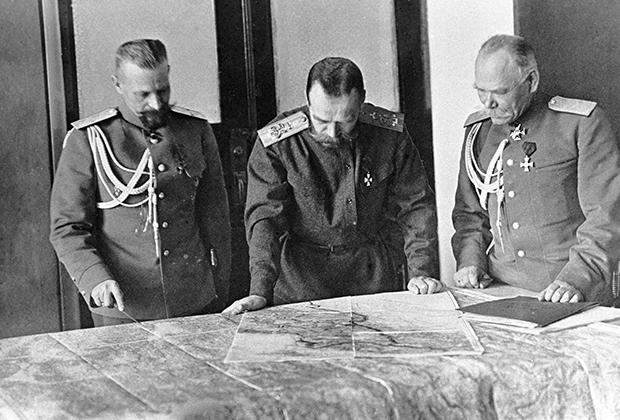 Николай II и Императорская Русская Армия выигрывала войну с немцами