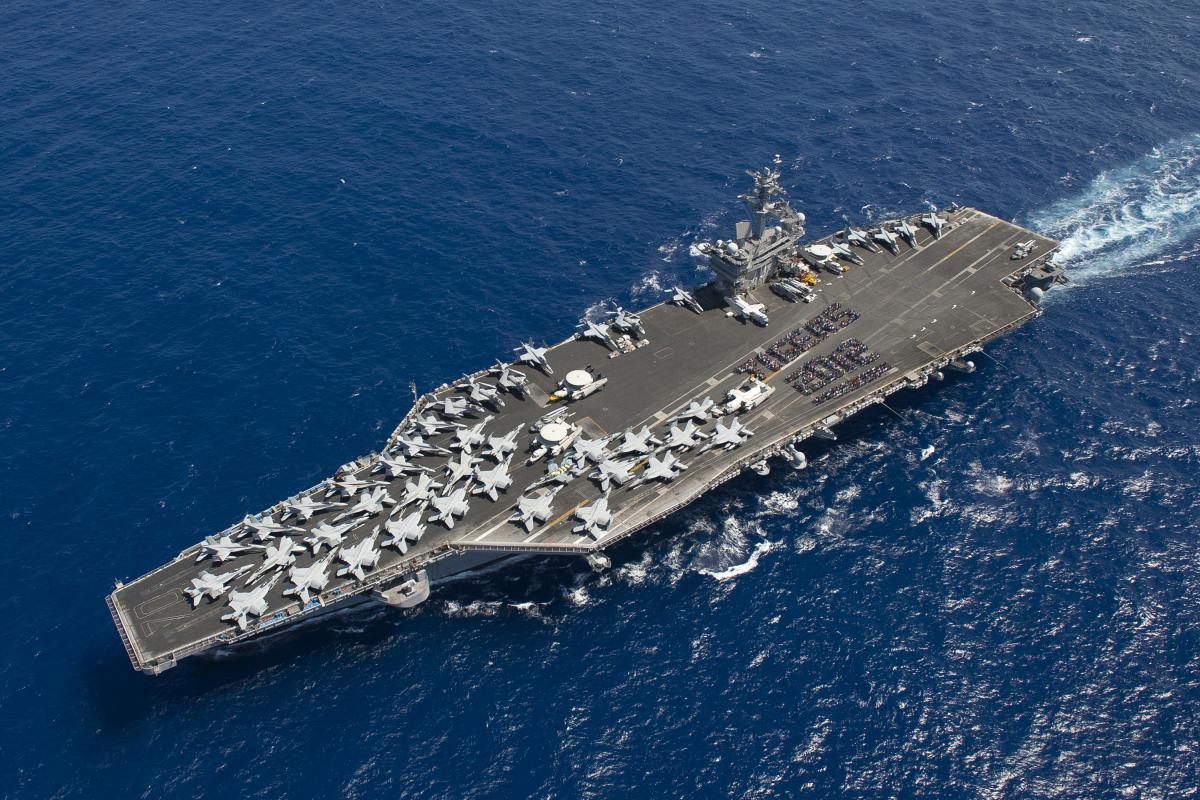 Современный Военно-Морской Флот мирового гегемона. ВМС США. Авианосцы United States Navy (USN)