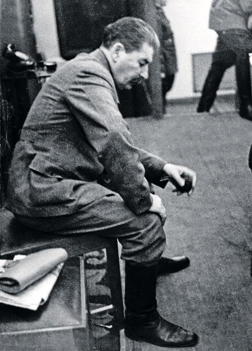Слабовольный Сталин