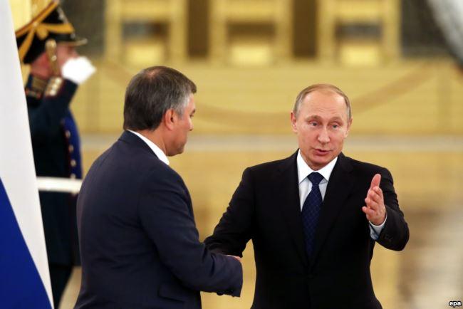Володин преемник Путина