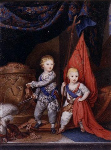 С самого начала Александра и Константина воспитывали как своеобразный тандем