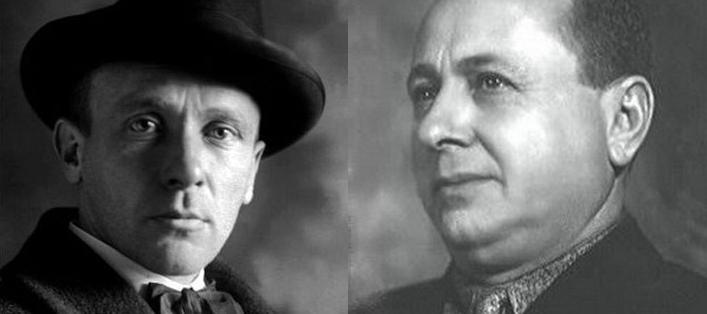 Михаил Булгаков и Владимир Билль-Белоцерковский
