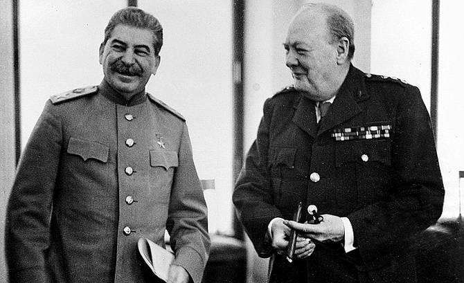 Сталин принял Россию с сохой, а оставил с ядерной бомбой