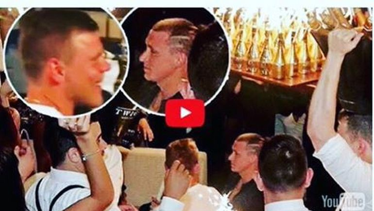 Кокорин Мамаев с бутылками шампанского скандал казино