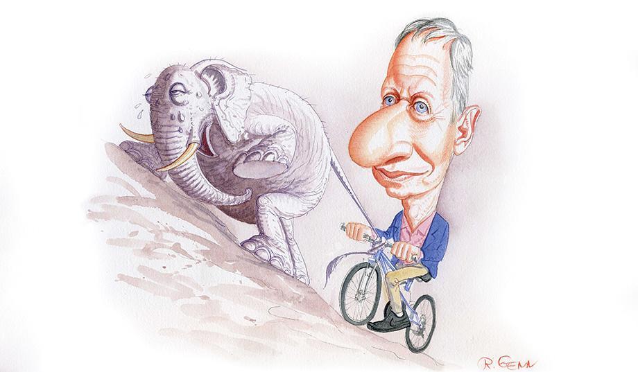 Гарри Джонсон кандидат в президенты США от либертарианцев