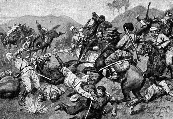 Сражение под Ляояном.