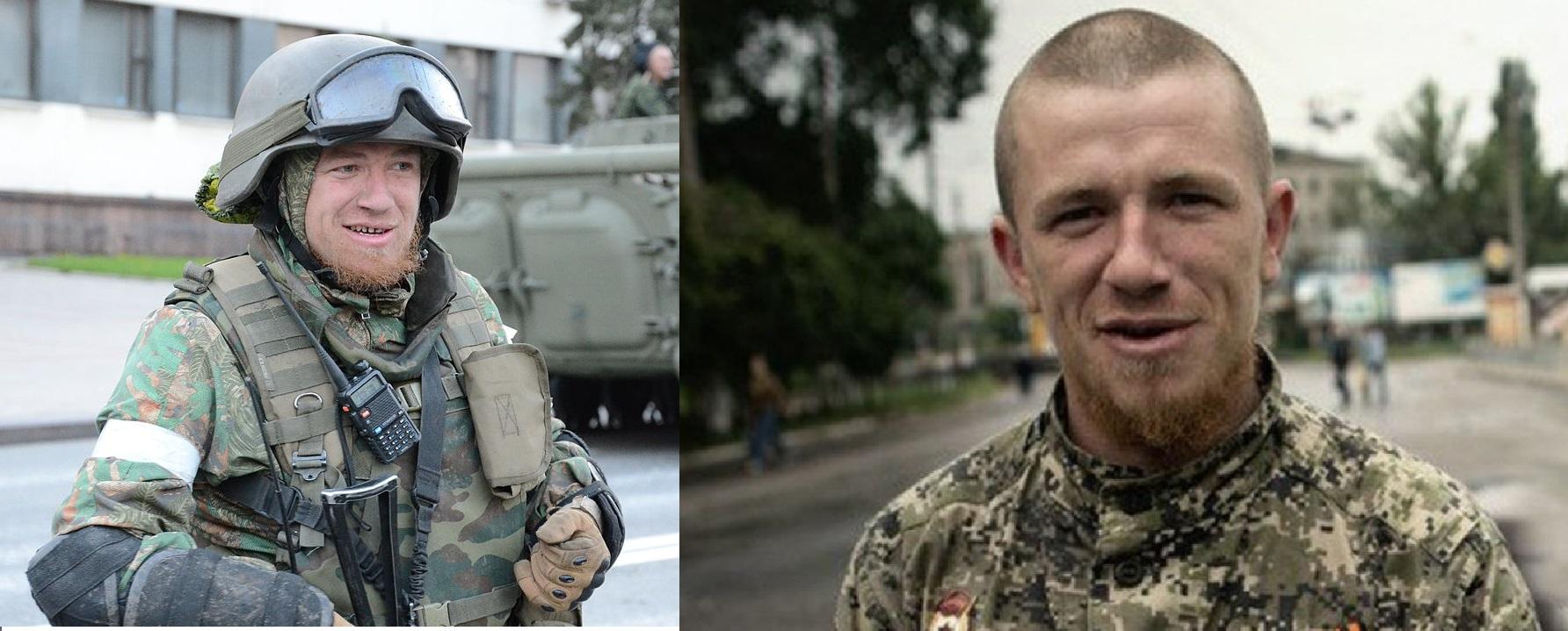 Арсений Павлов в 2014 году на Донбассе