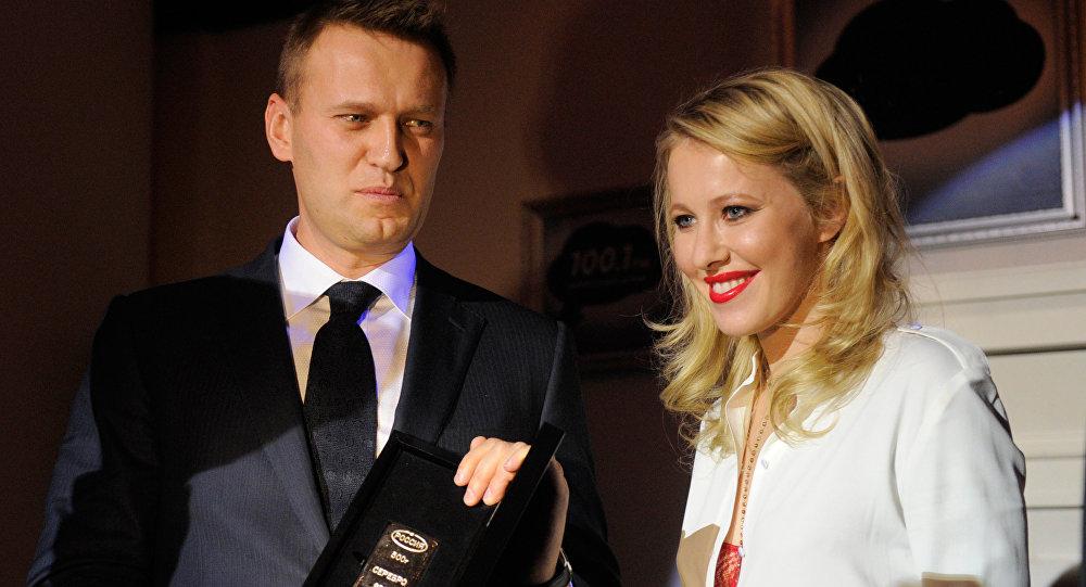 О скандальном интервью Ксении Собчак с Алексеем Навальным