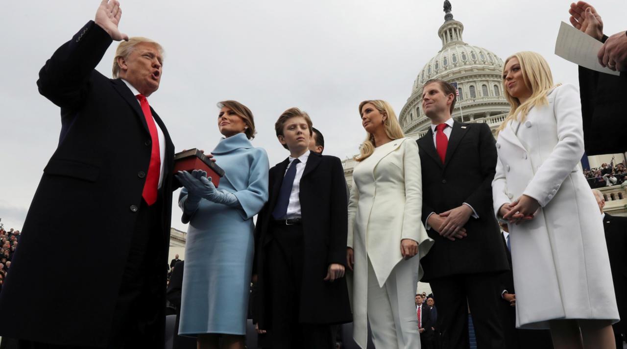 Трамп инаугурация