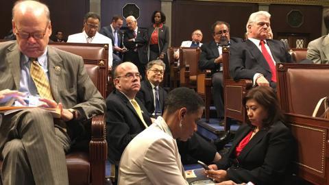 Сидячая забастовка в Сенате